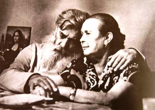 Страница альбома  Александр Павлович Кибальников с женой Александрой Григорьевной