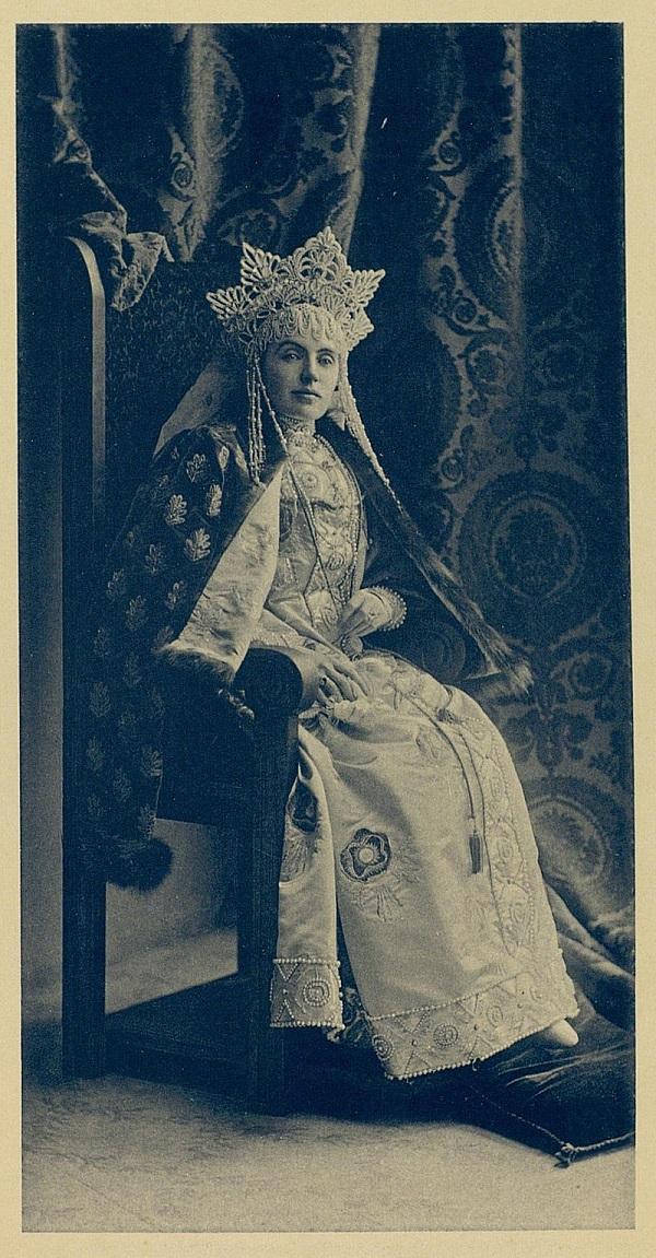 Баронесса Эмма Фредерикс Костюмированный бал 1903 года