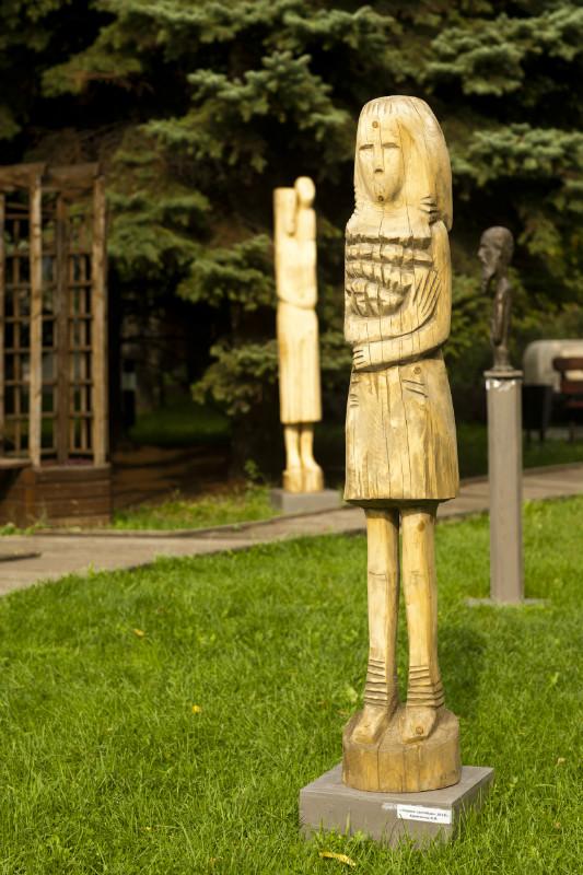 Скульптор Валерий Кравченко