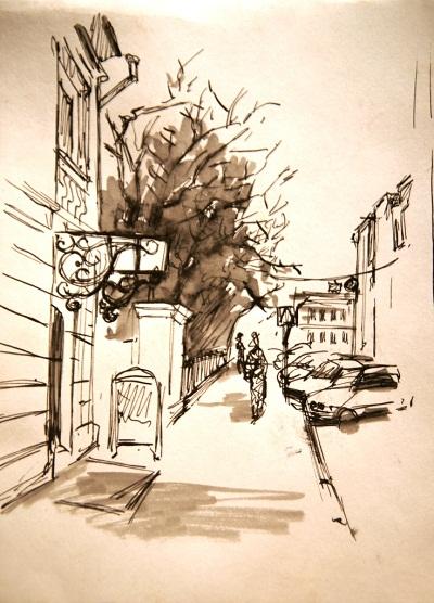 ..Рисунок Даниэла Рябичева Кафе 4
