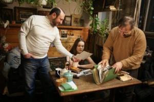 В мастерской Михаила Гурвича