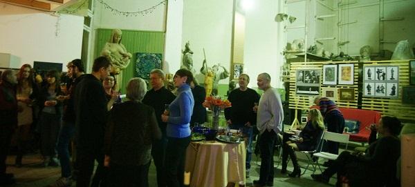 В мастерской Рябичевых  13 февраля 2013 г.