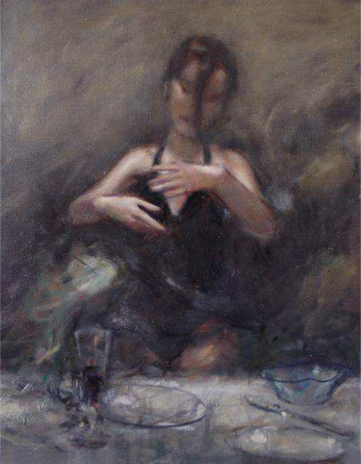 "Михаил Гурвич "" Магия"",  75х60, холст, масло"