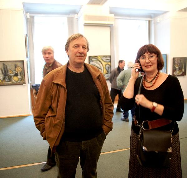 .Михаил и Елена Гурвич