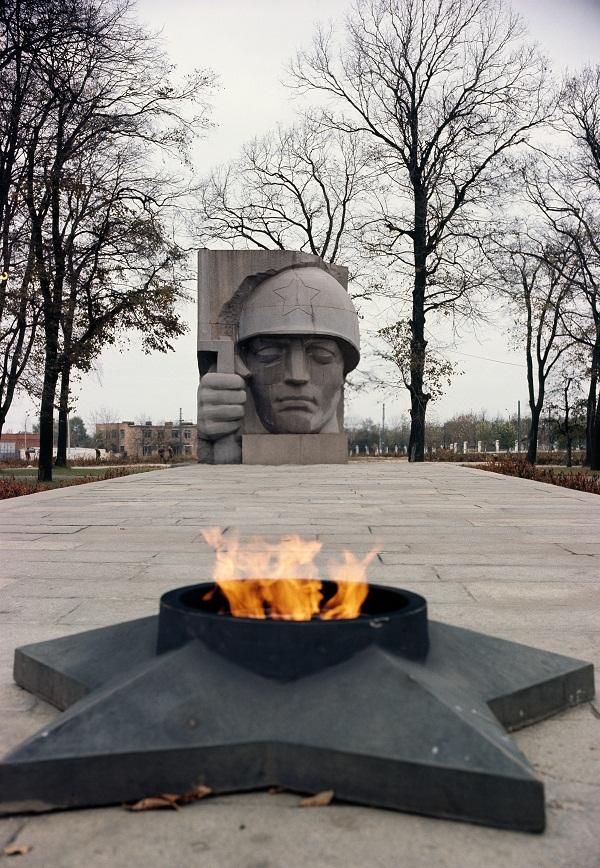 Дмитрий Борисович Рябичев Мемориал в Коломне.  1971 г.