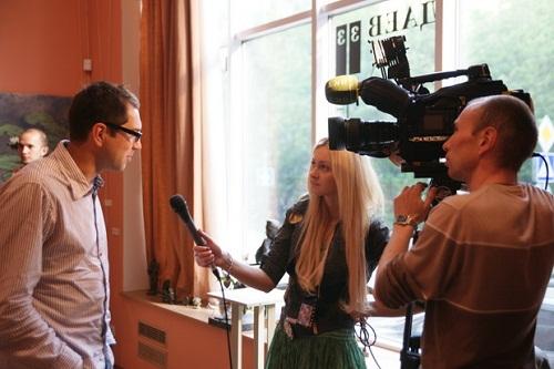 """Интервью с фотографом Алексеем Никишиным в галерее  """"Даев-33"""""""