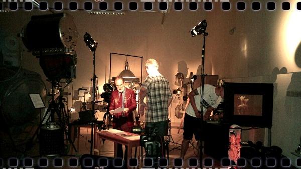 Режиссер Борис Александрович Загряжский на съемках проекта «Видеть невидимое» фото с сайта http://www.cnf.ru/posts/555
