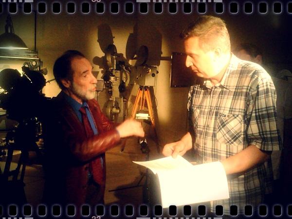 Режиссер Борис Александрович Загряжский на съемках проекта «Видеть невидимиое» фото с сайта: http://www.cnf.ru/posts/555