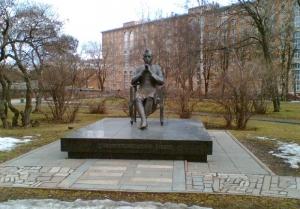 Скульптор  Дмитрий Борисович Рябичев Памятник Джавахарлалу Неру в Москве (Проспект Вернадского)