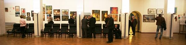 Выставка  в Доме Архитектора  Работы преподавателей МАРХИ