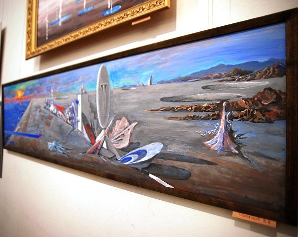 Выставка в Доме Архитектора работа Виктора Орловского
