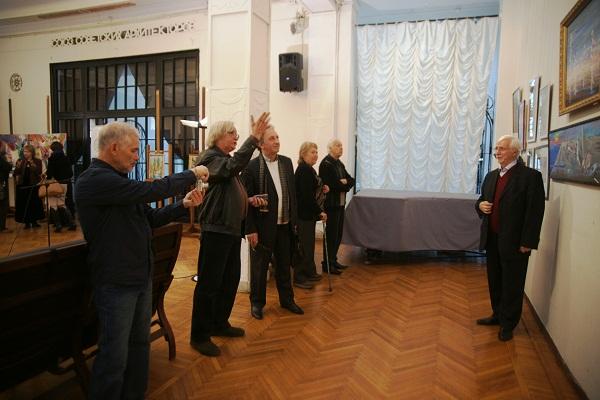Выставка в Доме Архитектора  у работ Виктора Федоровича Орловского