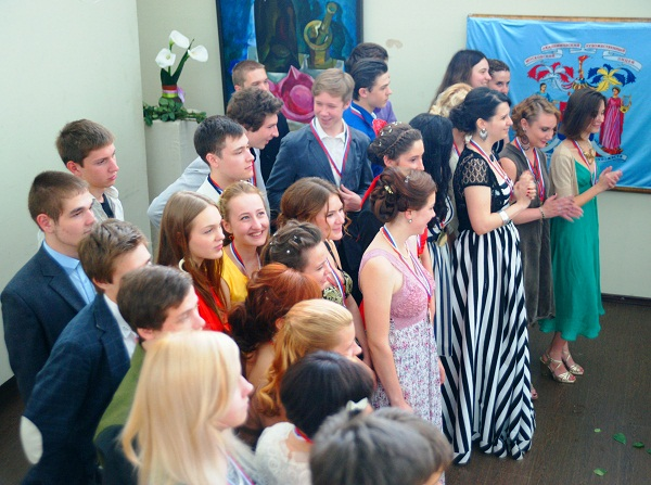 Фотография на память МАХЛ РАХ, Церемония вручения аттестатов,  23 июня, 2013 г.