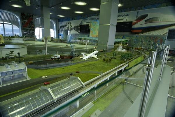 Музей  железнодорожной техники на Рижском вокзале  Московской железной дороги Фото: Александра Загряжская