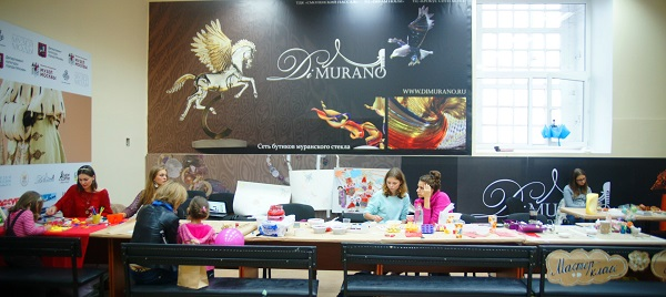 творческая Мастерская Рябичевых  Мастер-класс  Музей Москвы 1 сентября, 2013 г.