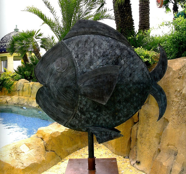 Скульптор  Матео Морнар (Монако)