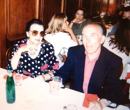 Дмитрий Рябичев и Валентина Борунова фото из архива  Александра и Даниэлы Рябичевых