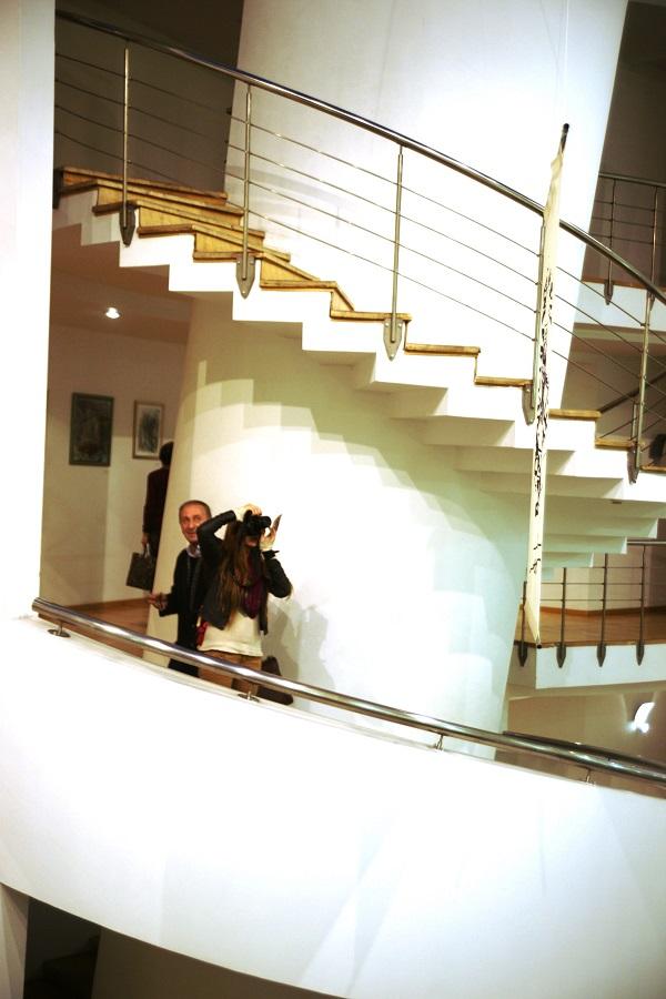 .Записки о художниках. Рябичев Даниэла. на Выставке Юрия Петкевича в Театре Школа драматического искусства...