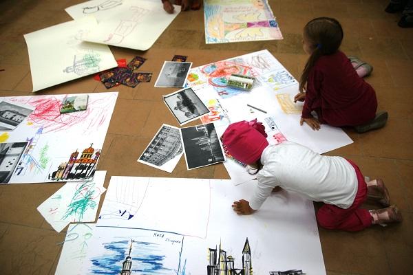 Дети самые талантливые художники