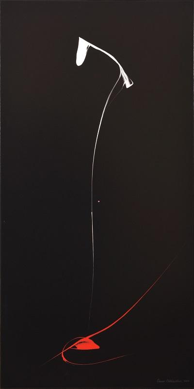 записки о художниках Омар Чхаидзе  Без названия 2010 140х50