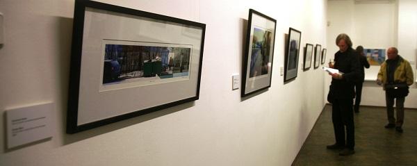 На выставке  Джонатана Люка  в Выставочных залах РАХ,  (Пречистенка, 19)