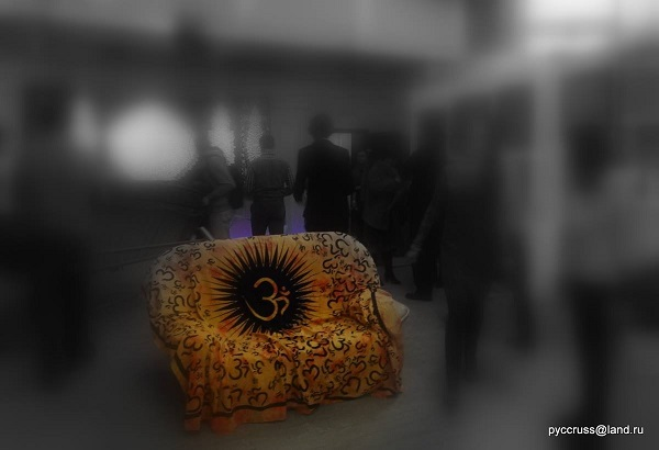 """Выставка  """"Спираль Вселенной"""" в Мастерской Рябичевых фото: (С) руссruss@land.ru"""