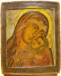 Корсунская икона Божией Матери 18 век