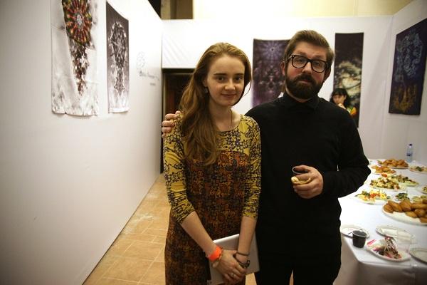 Куратор проекта  Александра Пашкина (Апельсинова) и композитор  Миша Мищенко