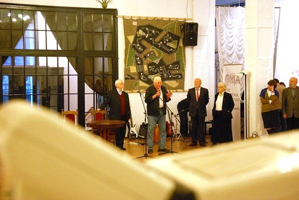 записки о художниках  Открытие выставки в ЦДА