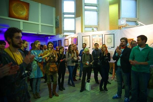 записки о художниках, Рябичев, Мастерская, выставка,  Спираль Вселенной        .