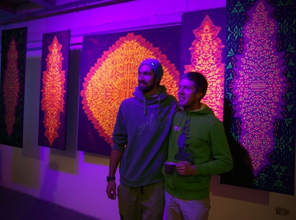 На выставке  представлена экспозиция «Shibalba» состоящая из пяти полотен обьеденных в одну концепцию. Авторы  Станислав Казанцев Navi aka Alfa Sirius ( Mudra Community ) .