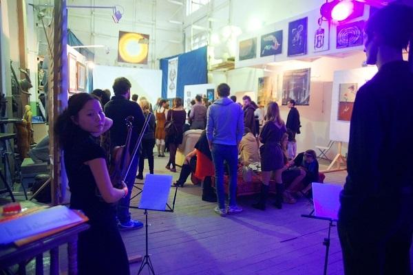 записки о художниках, Рябичев, Мастерская, выставка, Спираль Вселенной....