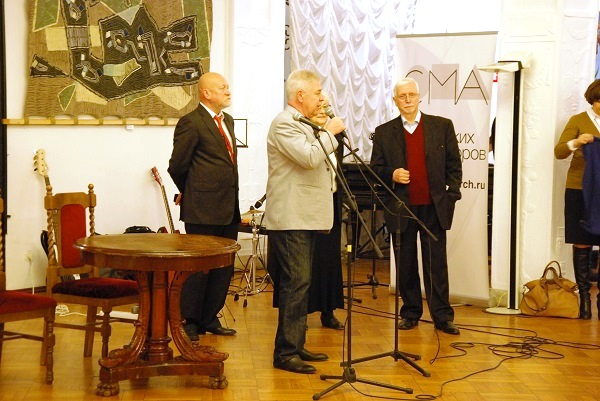 записки о художниках...Открытие выставки в ЦДА..