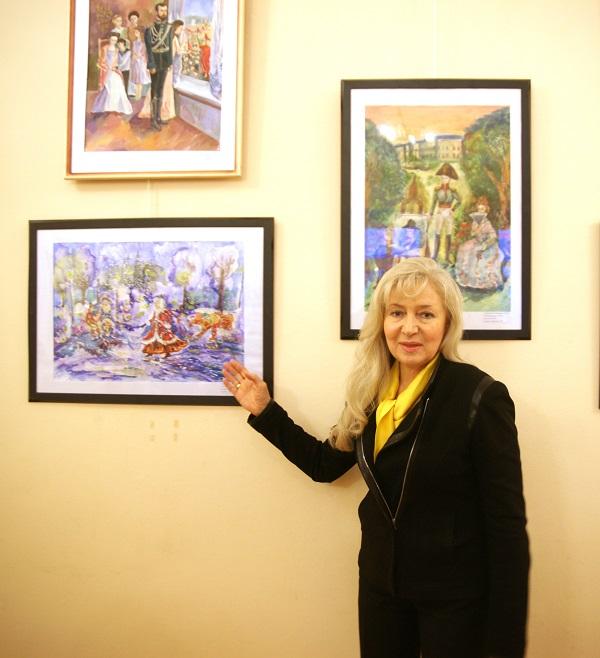 Арт -директор Международного Фонда славянской письменности и культуры Татьяна Панич, один из организаторов конурса и член жюри,  вручила награду двум участникам, учрежденную Фондом как специальный приз.