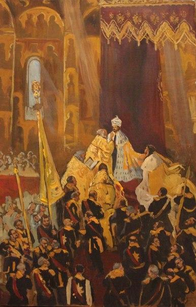 Даниэла Рябичева Внеконкурсная работа Коронация Николая Второго