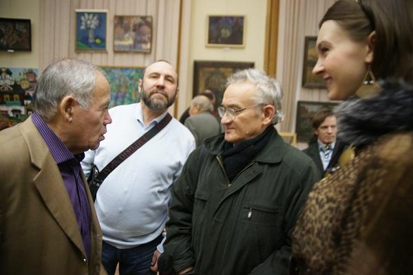 МОСХ Выставочный зал  на Беговой, 7 13 декабря 2013 г.