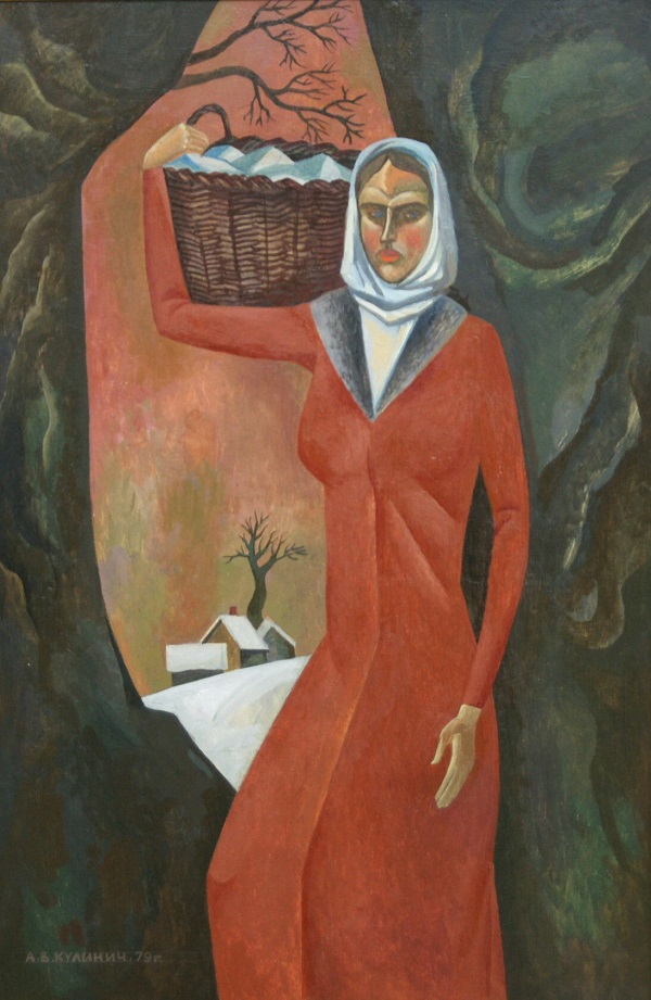 "Картина  Анатолия Кулинича на Выставке в ВЗ ""Колорит"" январь 2014 г."