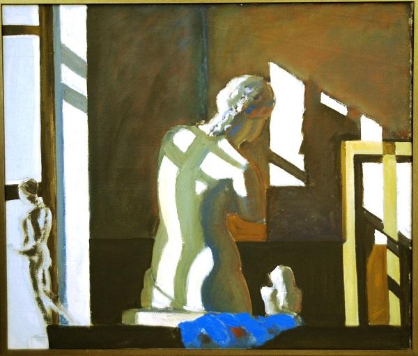 """Картина  Н.П. Орловского на Выставке в ВЗ """"Колорит"""" январь 2014"""