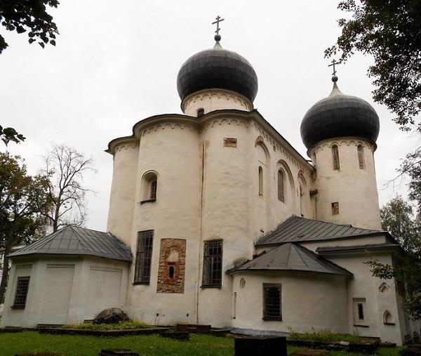 Собор Рождества Богородицы Новгород 1117-1119 гг..
