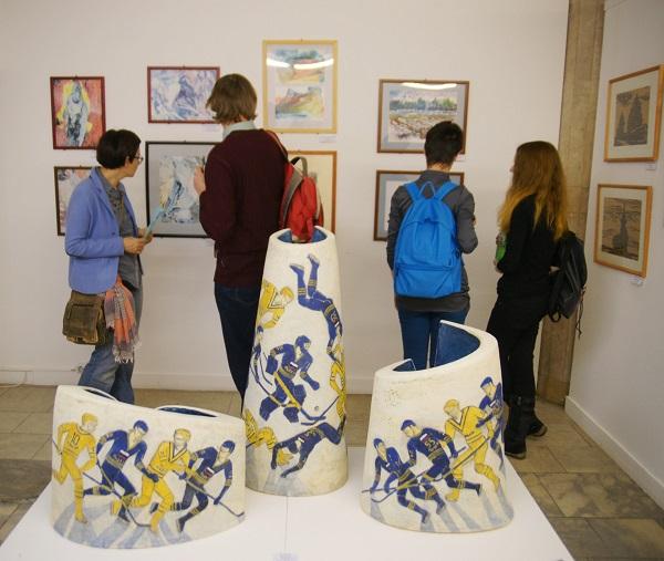 Выставка «Печатная графика. Скульптура.  Декоративно-прикладное искусство» В рамках Московского международного художественного салона  «ЦДХ-2014»