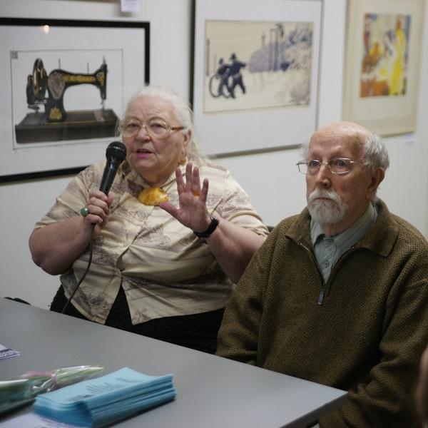 26 февраля  в 17.00 на открытии выставки состоялось обсуждение работ экспозиции с участием искусствоведа Льва Федоровича Дьяконицына.