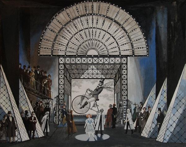 «13»  Выставка произведений художников – членов  Отделения театрально-и кинодекорационного искусства  Российской академии художеств