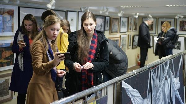 ХХХIV Молодежная Выставка МОСХ РОССИИ  в ВЗ на Беговой