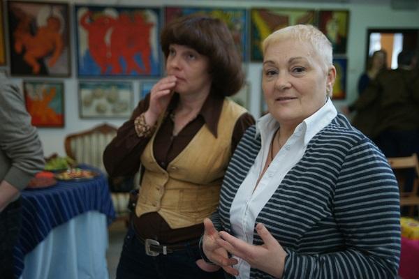 Автор Выставки Маргарита Юркова и художник  Маргарита Сюрина