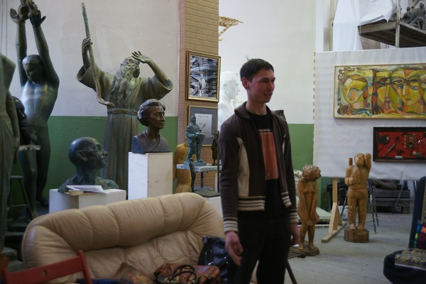 Скульптор  Алексей Лоптев
