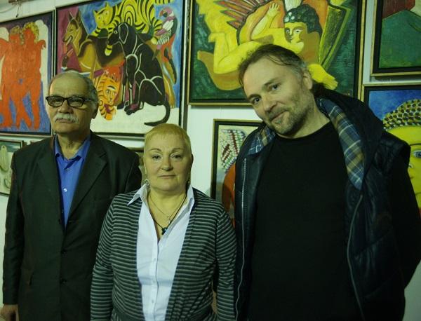 Семен Белов искусствовед Маргарита Юркова автор Выставки Сергей Юрков дизайнер