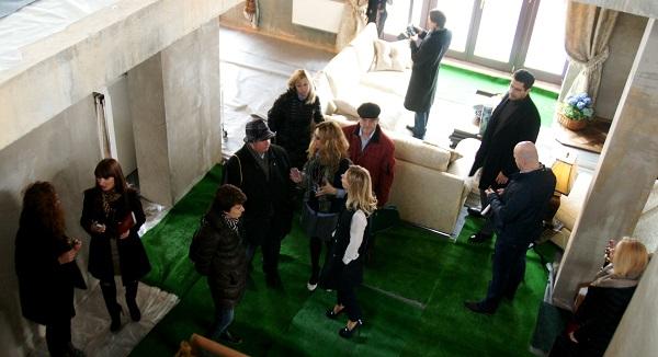 BriArt  Выставка Архитектурная Весна в Рубине встреча с журналистами