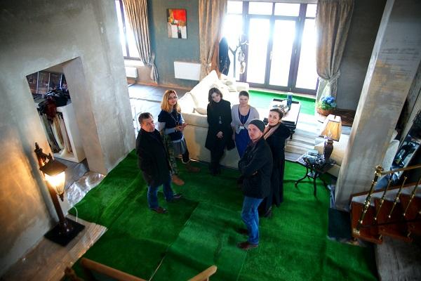 BriArt  Выставка Архитектурная Весна в Рубине с прессой