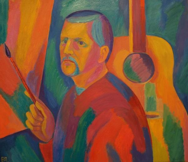В.Б. Поляков  Автопортрет холст, масло, 2013 г.