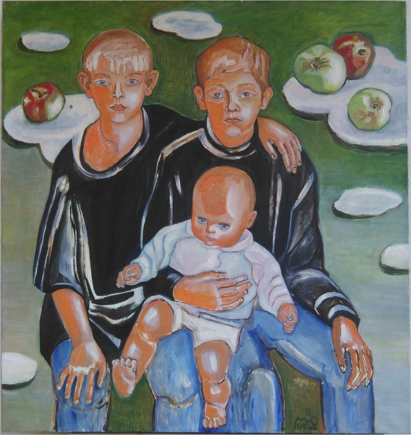 записки о художниках АРТ-РЕЛИЗ.РФ, Детские портреты Маргариты Юрковой